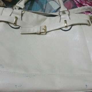REPRICED WHITE JAPAN UNBRANDED BAG
