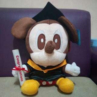 Mickey Original Disney Wisuda(With Tag)