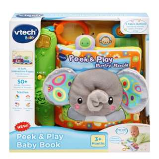 BNIB VTech Baby Peek and Play Baby Book