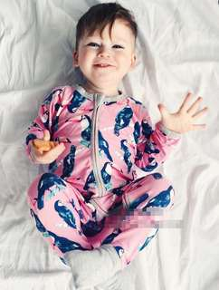 BONDS INSPIRED SLEEPSUIT BIRD