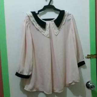 Unbranded 3/4 Silk Blouse