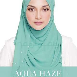 Naelofarhijab Lady Warda Aqua Haze