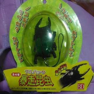 🚚 日本全新未開封爆走昆蟲吊飾共4種圖案特價只賣120元