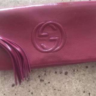 Authentic Gucci soho Clutch