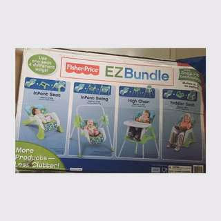 Fisher Price Ez Bundle 4in1