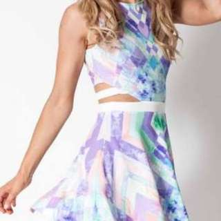 Multicolour Kaleidoscope Dress