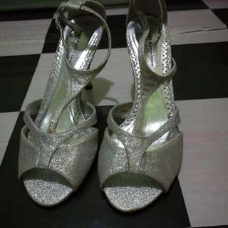 Gibi silver Stilettos