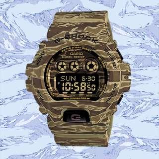 CASIO G-SHOCK Camo GD-X6900CM-5 Camouflage Olive Green New Genuine