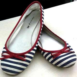 Stripe Flat Shoes Payless