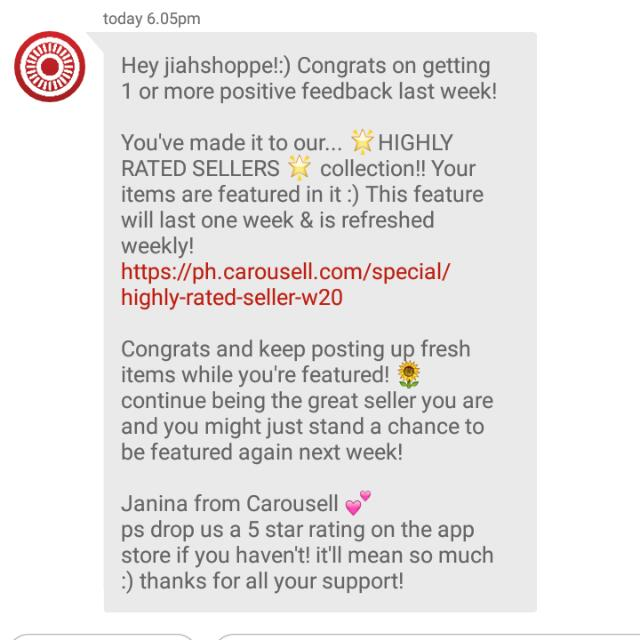4th Time!!! TY Carousell