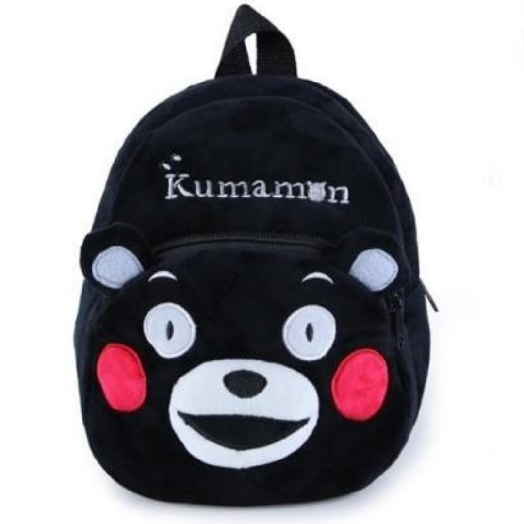 【轉角】熊本熊 黑熊兒童書包 幼兒背包 雙肩背包