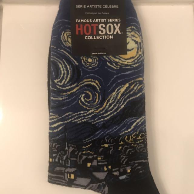 A Starry Night Socks