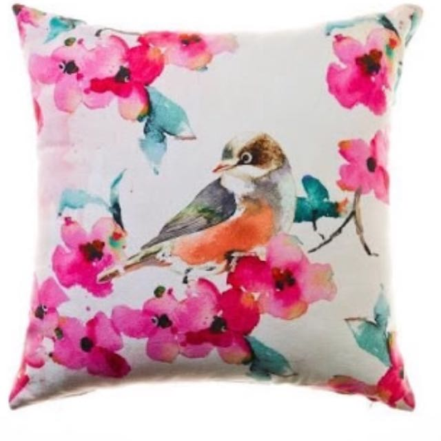 Adairs Bird Cushion Cover With Pillow Insert