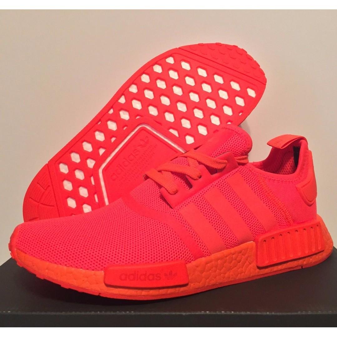 Adidas NMD R1 Solar Red!