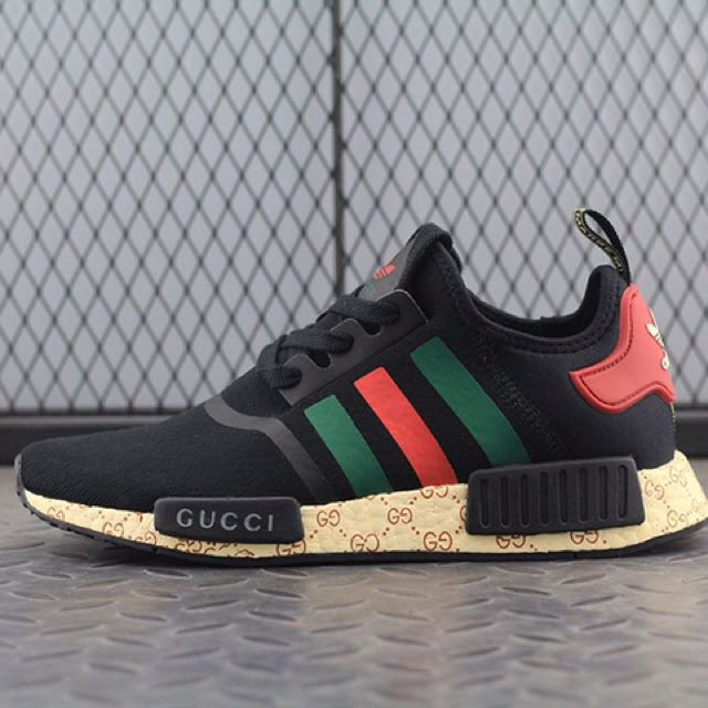 ADIDAS NMD x GUCCI, Men\u0027s Fashion, Clothes on Carousell
