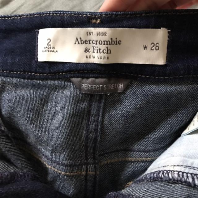 AF 女生牛仔短褲