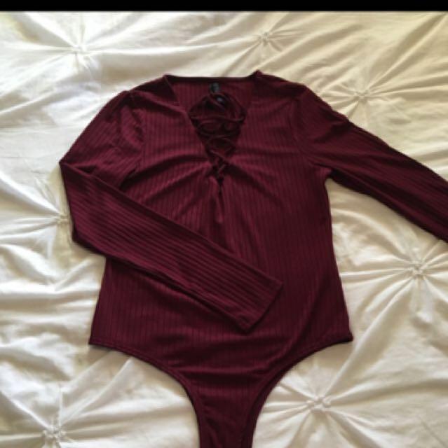 Ally Bodysuit Size 12