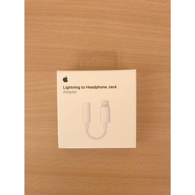 Apple Lightning to Headphone Jack Adaptor