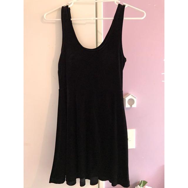Asha Velvet Mini Dress