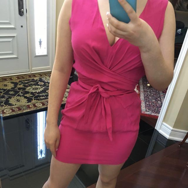 ASOS Tie Cinch Dress