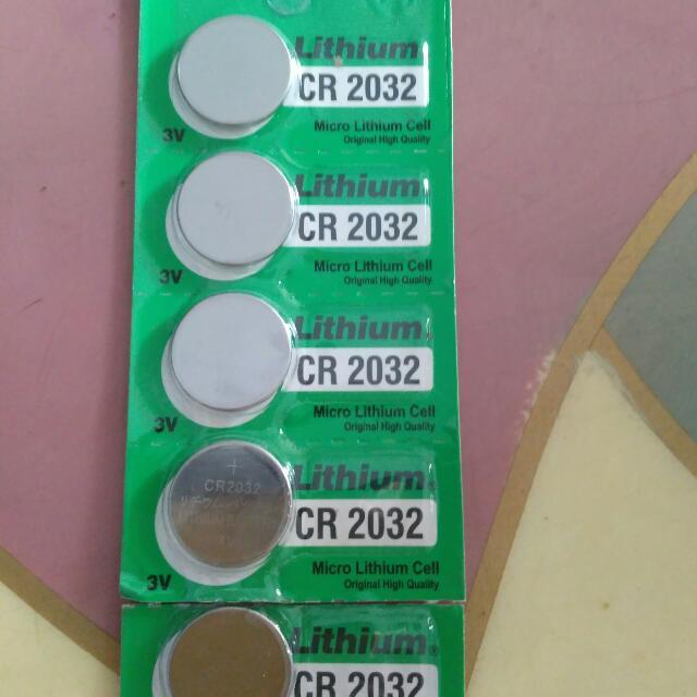 Baterai lithium CR2032