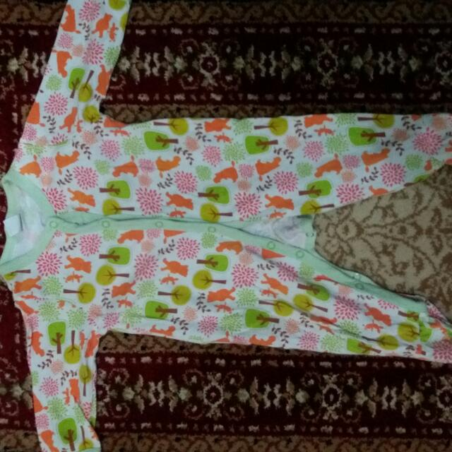 Beli 2 Gratis 1 Preloved Sleepsuit Next 6-9month
