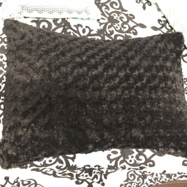 Black Pillow Cover