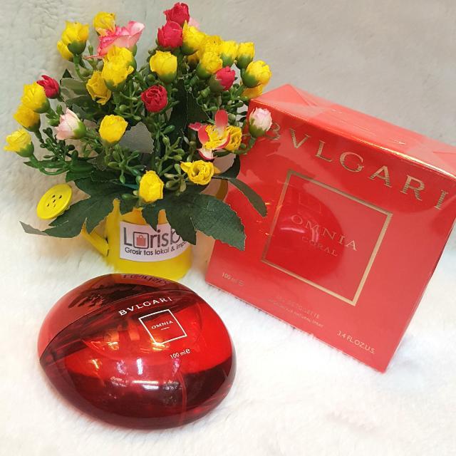 Blvgari Omnia Coral Parfum Original Singapore