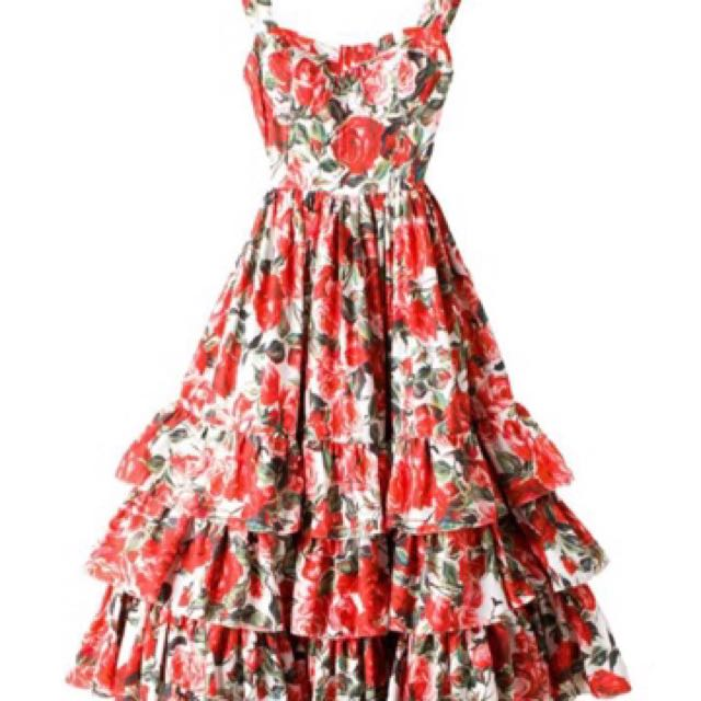 Brand New Designer Runway Dress