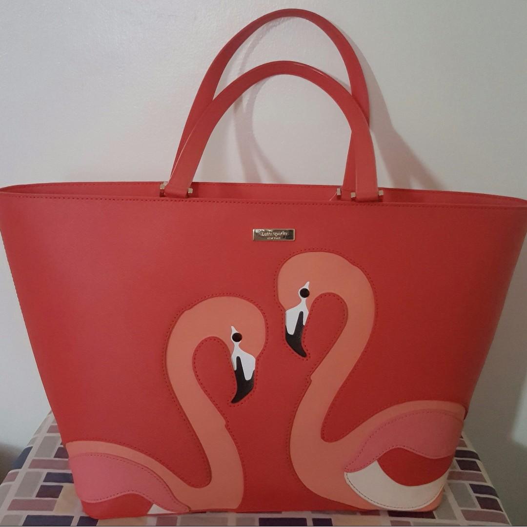 Brand New Kate Spade Jules Flamingo Tote Bag