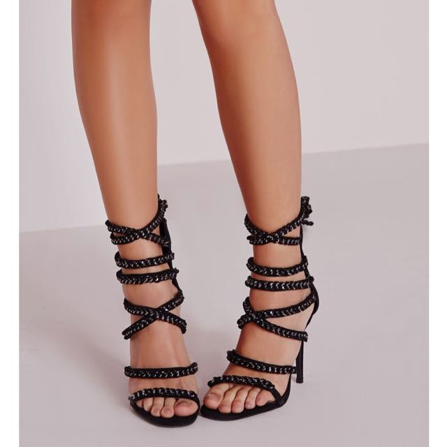 Brand new Peace + Love Chained Heels