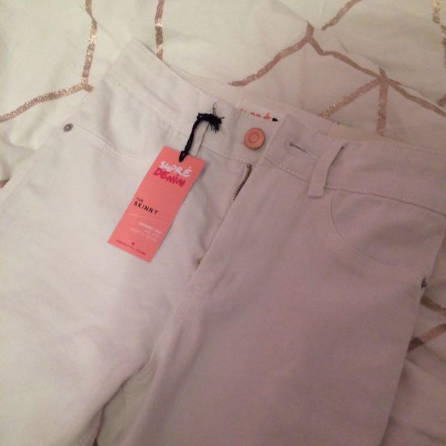 Brand New White Skinny Jeans
