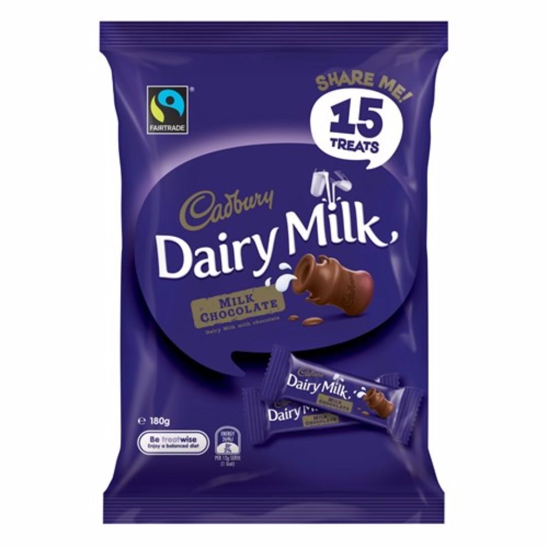 【紐西蘭代購】Cadbury 巧克力分享包