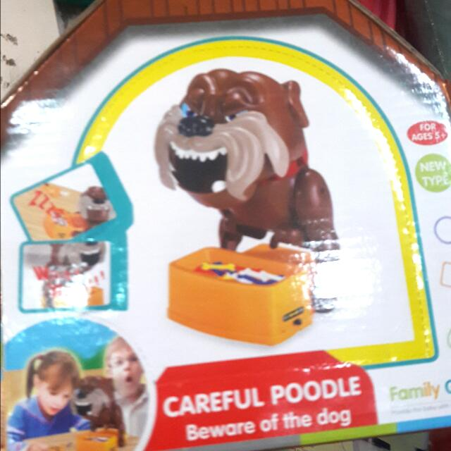 CAREFUL POODLE TOY