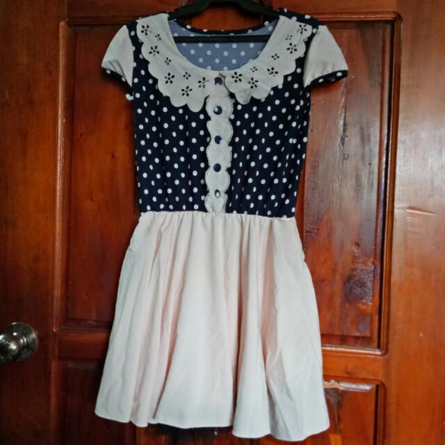 Casual Dress | Polka Dots