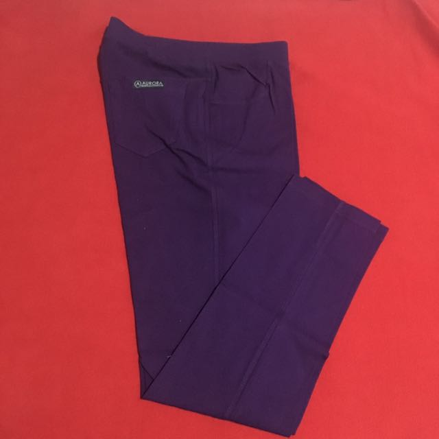 Celana Stretch Ungu
