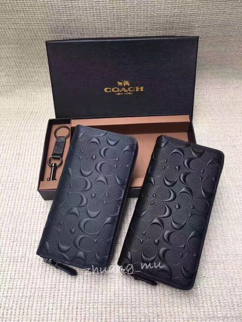 Coach Men Wallet Set Ag74918 Men S Fashion Bags Wallets On Carousell