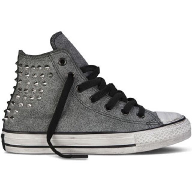 Converse Suede Studded Shoes