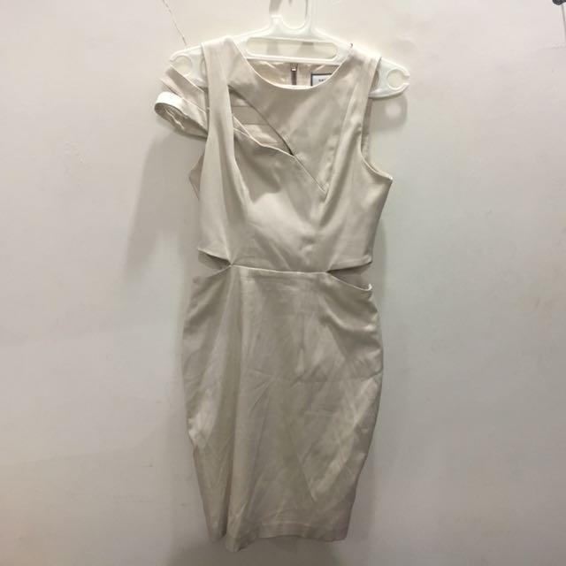 Cut Out Asymmetric Dress Saint & Sinner