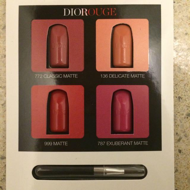 Dior Lipstick Sample