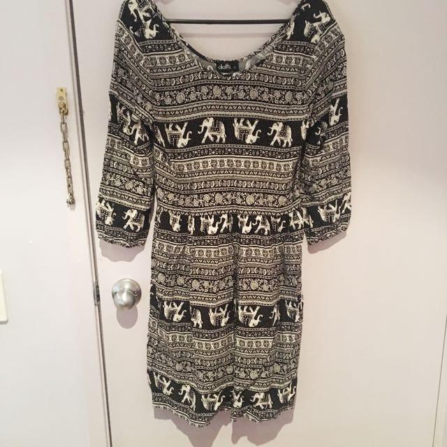Dotti Size 8 Elephant Tunic