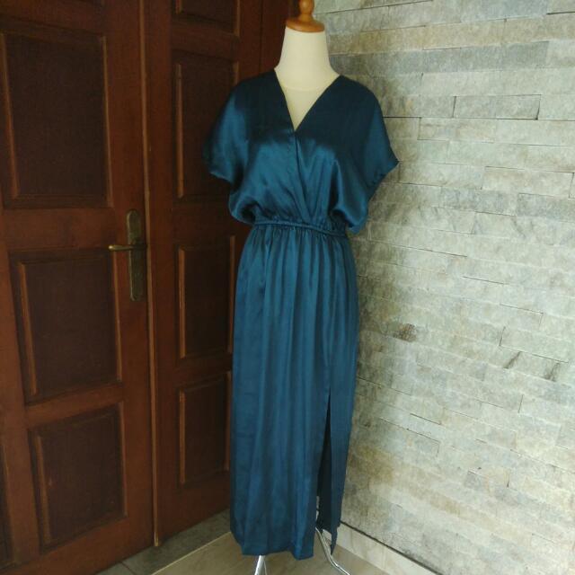 Dress Panjang Emerald