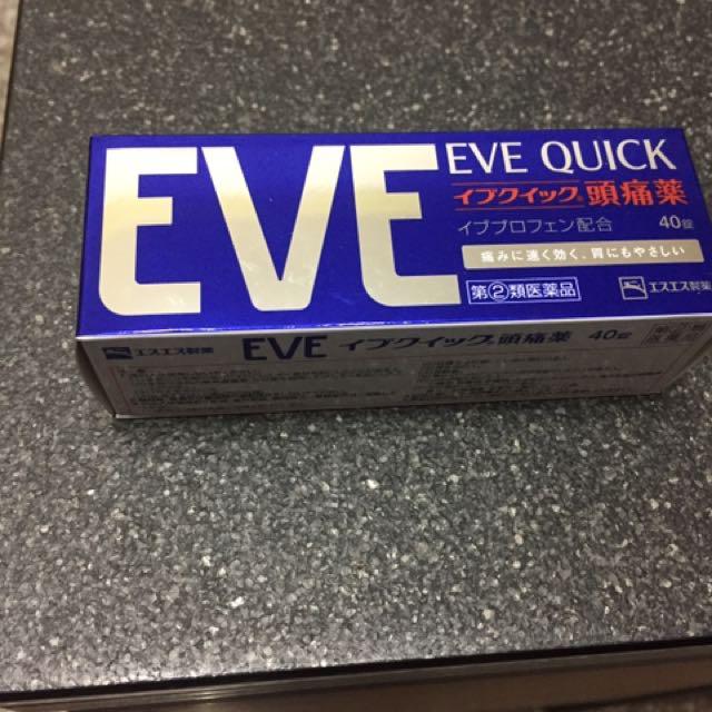 日本EVE QUICK 40錠