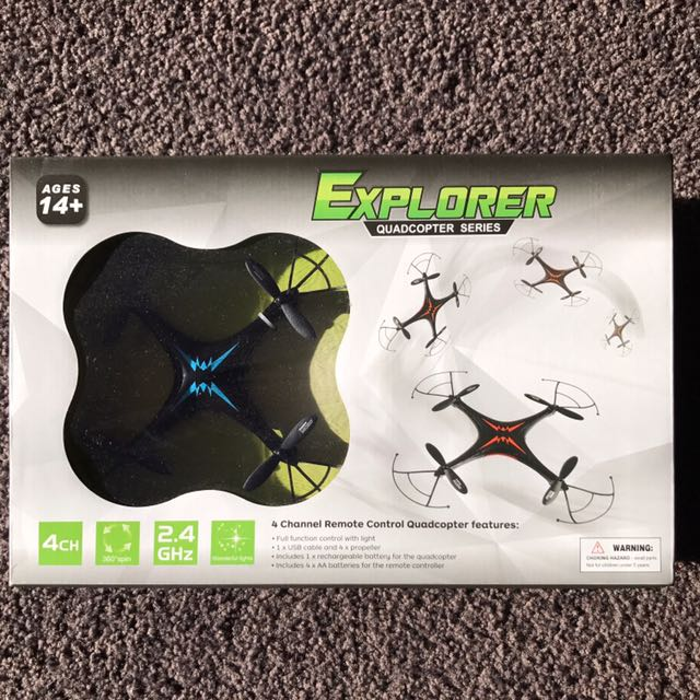 Explorer Quadcopter Series