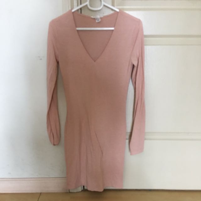 Forever 21 Dress Pink Medium