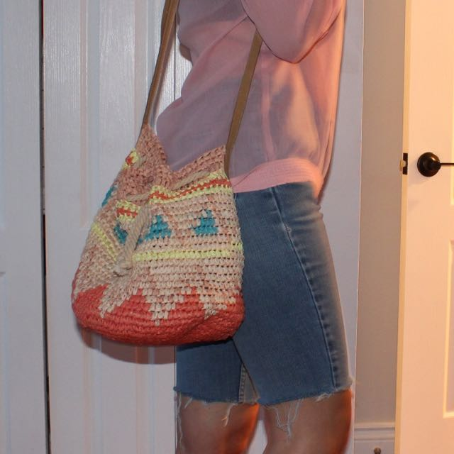 Fun Straw Purse