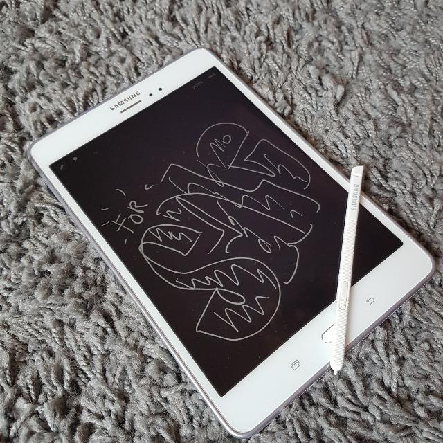 Galaxy Tab A With S pen (White)