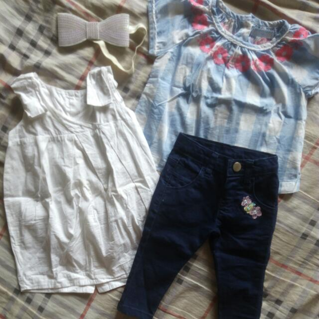 Gingersnaps Dress Blouse/ Crib Couture pants