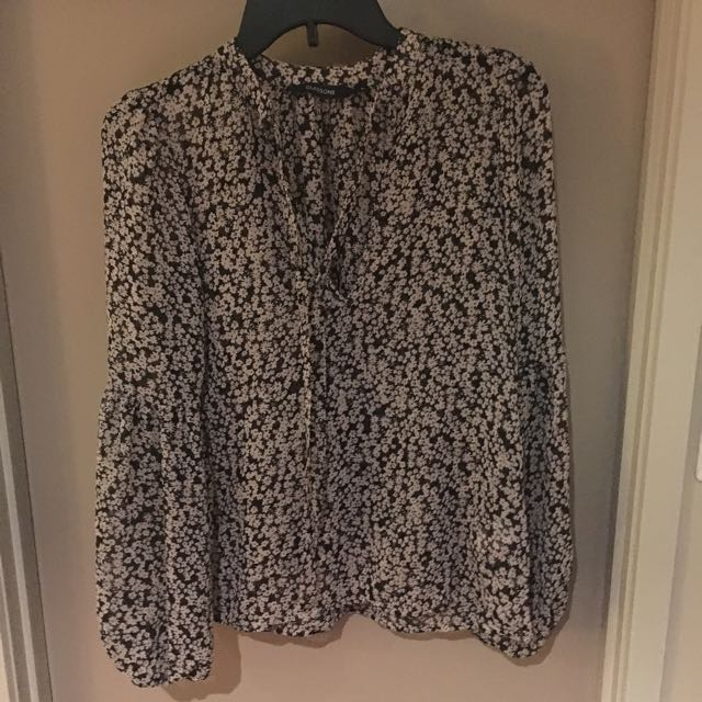 Glassons Floral Blouse Size 6