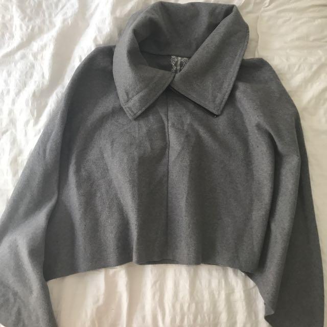 Grey Coat Size 6-8